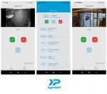 Captures d'écrans de l'application EyeOpen