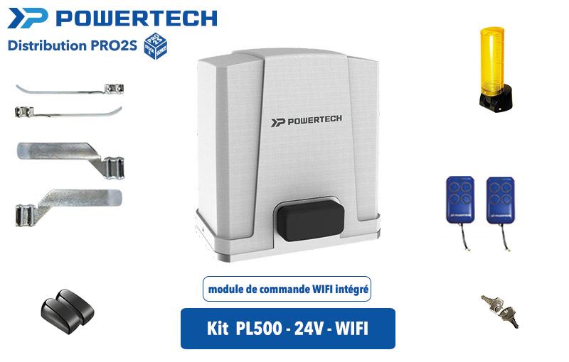 Kit powertech PL500 24 Volt WIFI