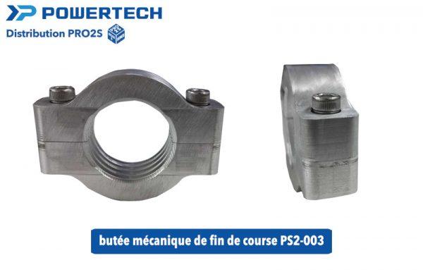 butée mécanique fin de course PS2-003